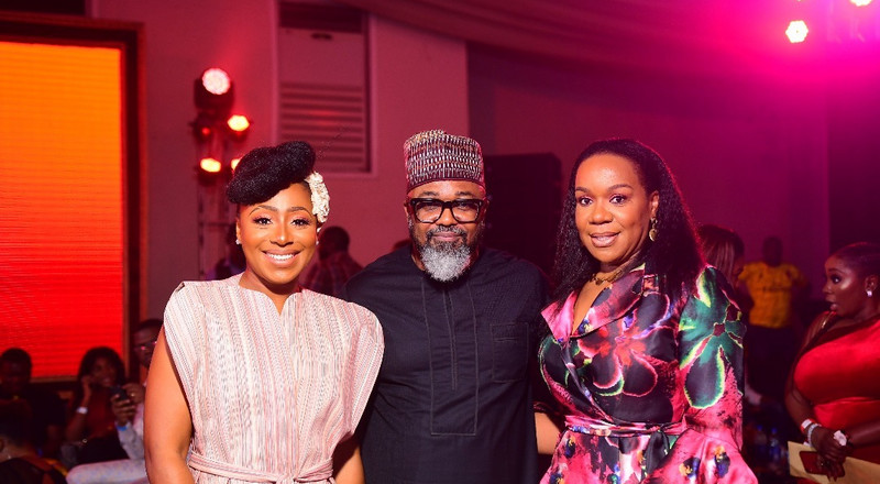 Nollywood stars dazzle at the AMVCA 2020 nominee party [photos]