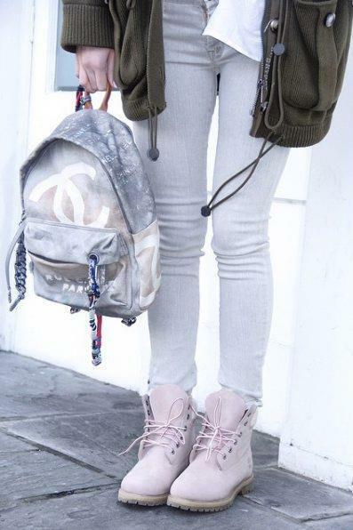 321c78050d612 Marina Łuczenko-Szczęsna w plecaku Chanel wartym 13 tys. złotych