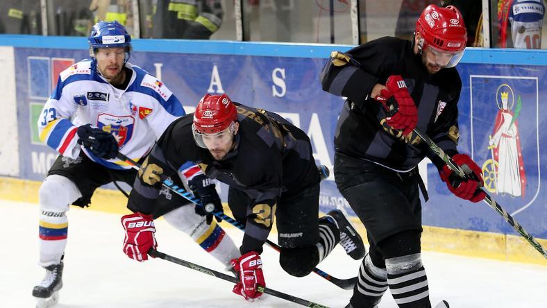 Kadr z meczu TatrySki Podhale Nowy Targ - Comarch Cracovia