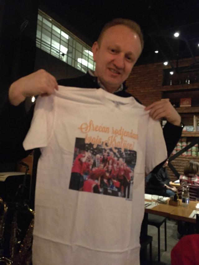 Jedan od dva rođendanska poklona košarkašica Draganu Đilasu