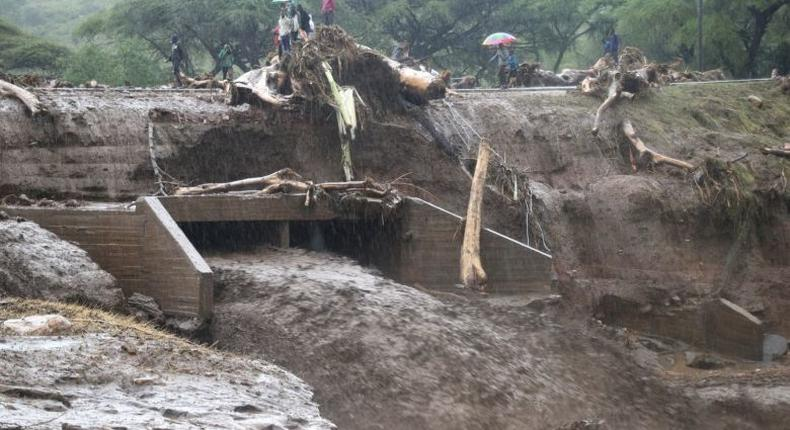 File Image. 400 families displaced in Naivasha after Marmanet Dam burst its banks