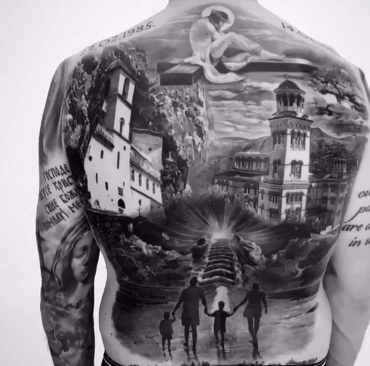 Ljubomir Fejsa, tetovaža