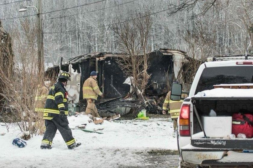 Rodzina zginęła w pożarze