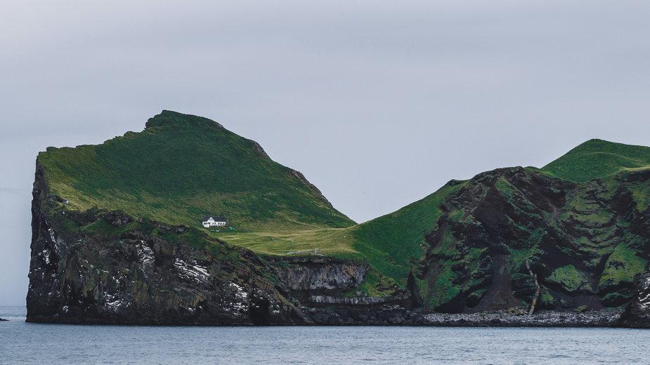 Najbardziej samotny dom świata znajduje się na Islandii, na wyspie Ellidaey
