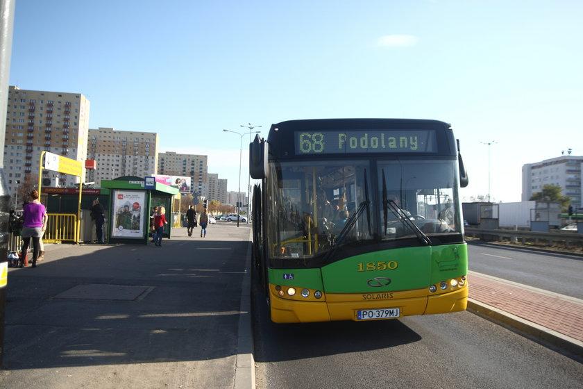 Autobus komunikacji miejskiej w Poznaniu