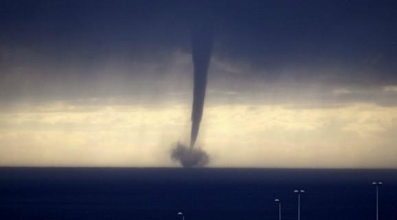 Tornado na Sredozemnom moru