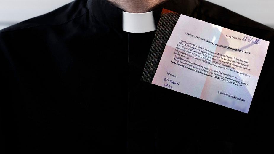 Ropica Polska: Szokujące oświadczenie. Bez niego zakaz dopuszczenia do sakramentu