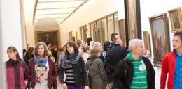 Tłumy na Nocy Muzeów