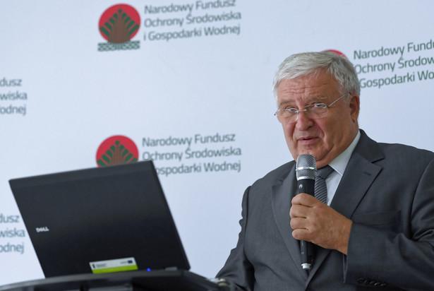 Prezes zarządu Narodowego Funduszu Ochrony Środowiska i Gospodarki Wodnej Kazimierz Kujda