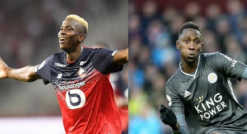 Victor Osimhen and Wilfred Ndidi are the best Nigerian players from the 2019/2020 season (Twitter/Lille/Leicester City)