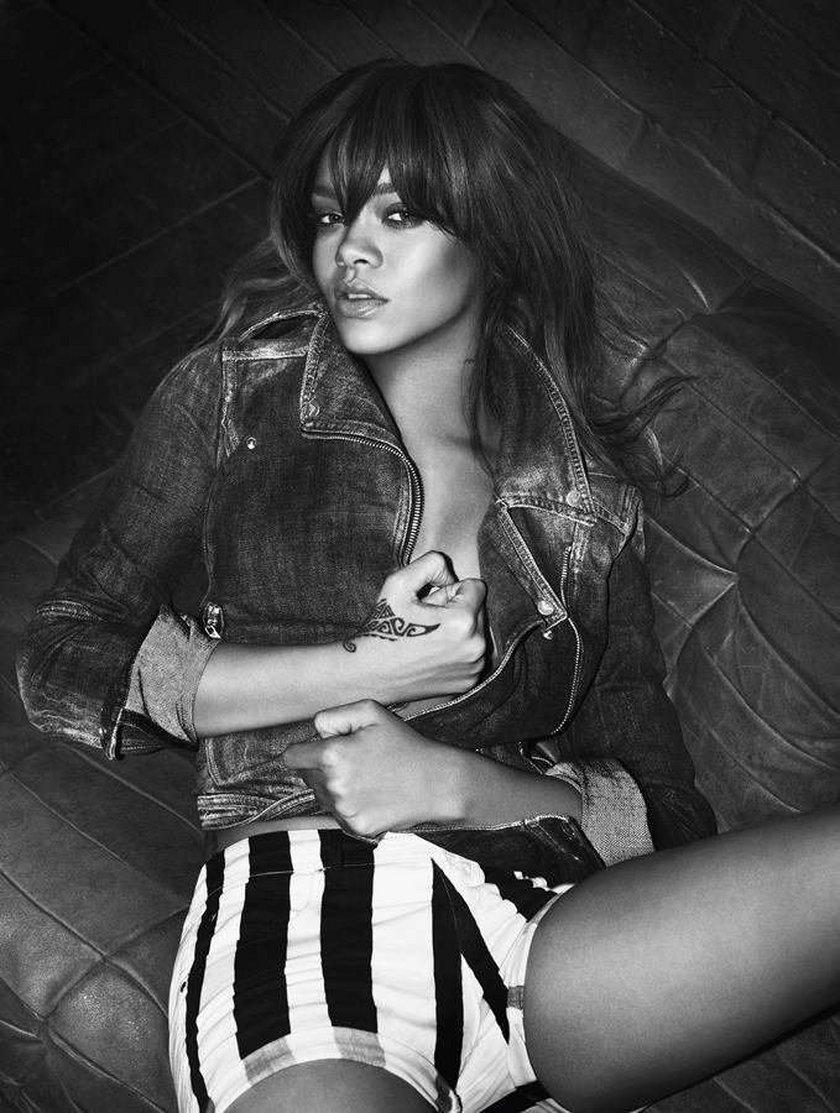 Rihanna Armani 2012