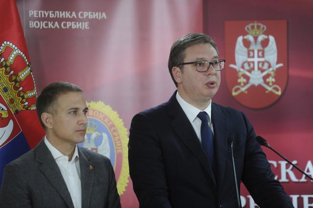 Nebojša Stefanović i Aleksandar Vučić