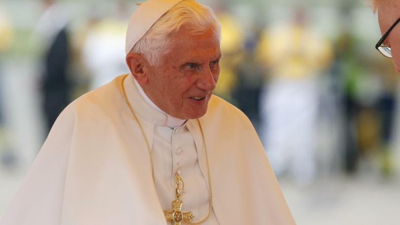 Benedykt XVI z prezydentem Chorwacji, fot. Reuters