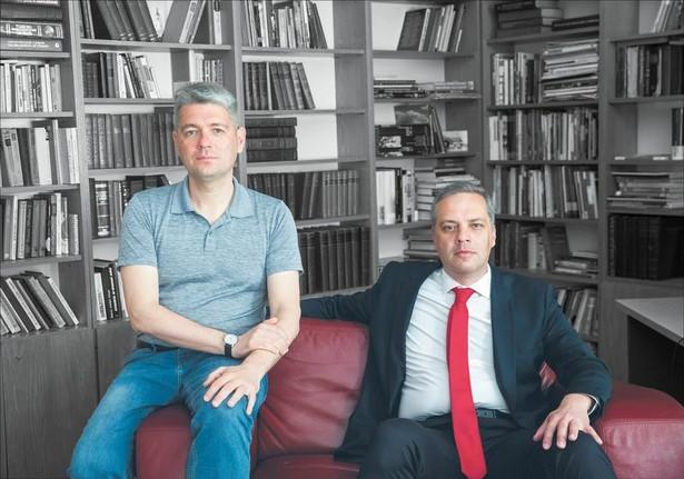 Siergiej Biespałow (L) i Władimir Miłow (P). Fot. Wojtek Górski
