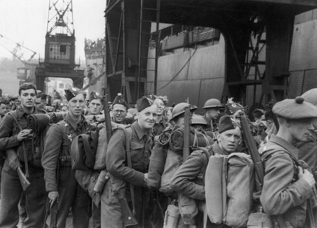 Ewakuacja Dunkierki w 1940 r.
