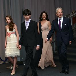 Michael Douglas pochwalił się swoimi dziećmi