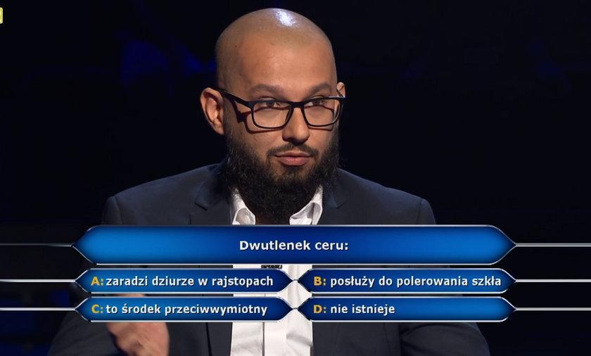 """""""Milionerzy"""" dobra passa Dawida z Opola!"""
