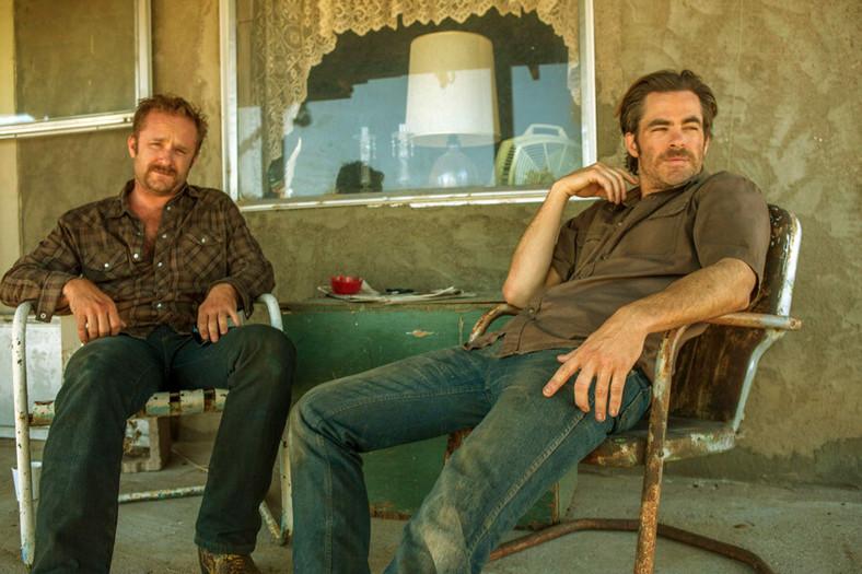 """Chris Pine i Ben Foster na planie """"Aż po grób"""""""