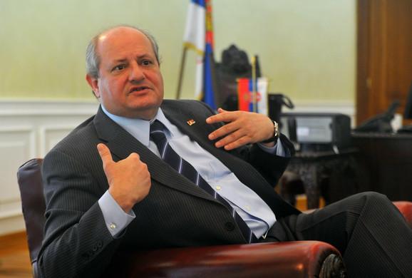 Ivan Mrkić, ministar spoljnih poslova