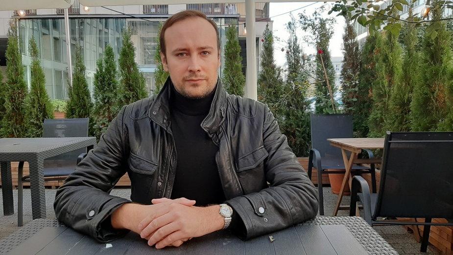 Szef Falangi Bartosz Bekier