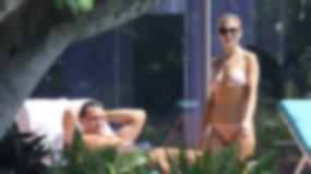 Zobacz, co Joanna Krupa zrobiła mężowi na basenie