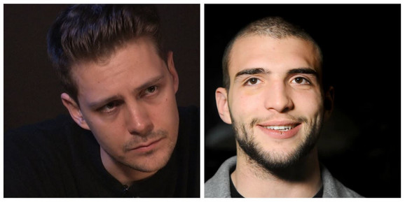 Miloš Biković i Veljko Ražnatović