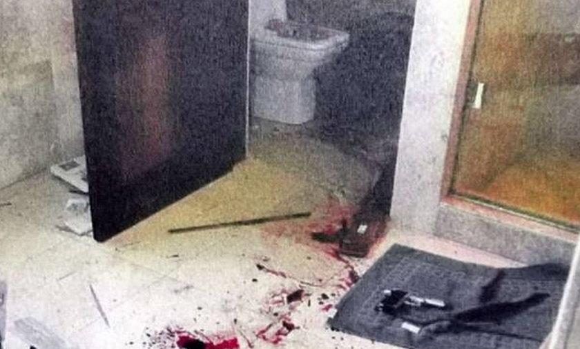 Tu Pisotrius zabił kochankę Nowe zdjęcia z miejsca zbrodni