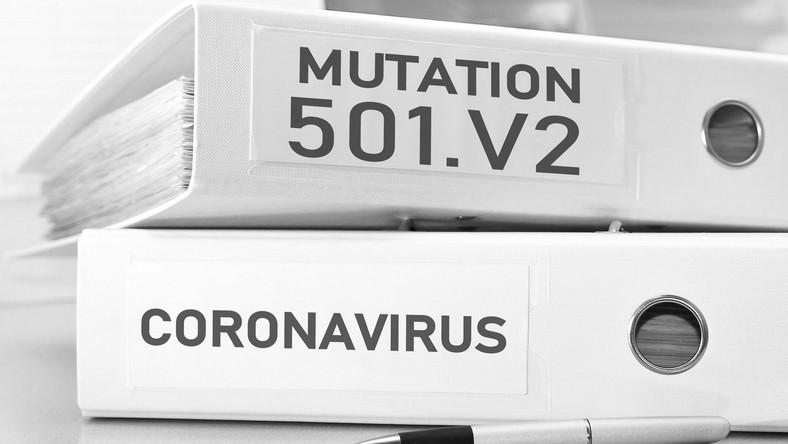 501.v2. Południowoafrykańska mutacja koronawirusa