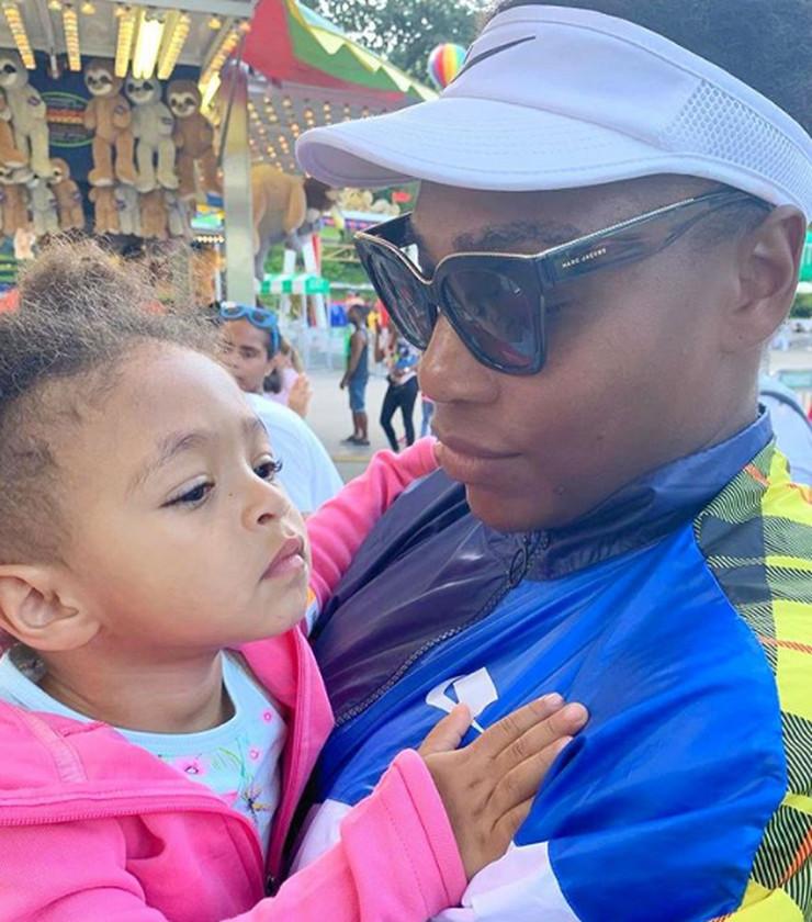Serena Vilijams i ćerka Olimpija