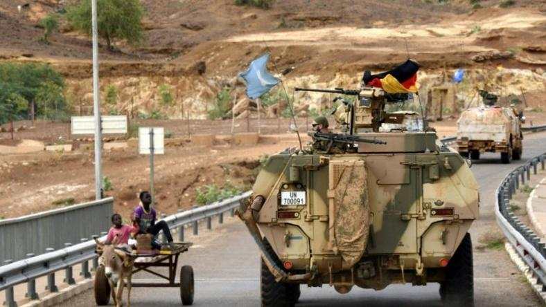 Horse power and donkey power: German peacekeepers on patrol in Mali