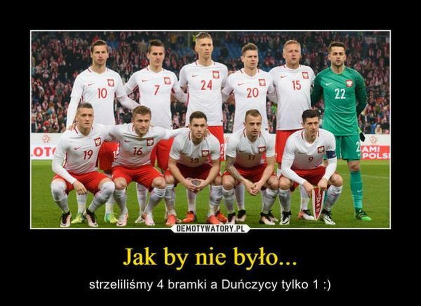 MEMY po meczu Polska-Dania na Stadionie Narodowym