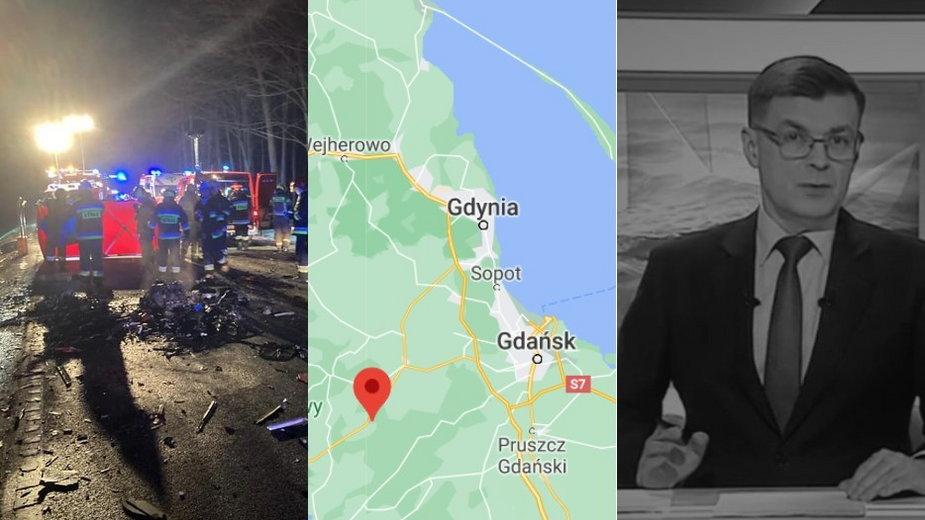 Pomorze: w wypadku samochodowym zginął dziennikarz TVP Gdańsk