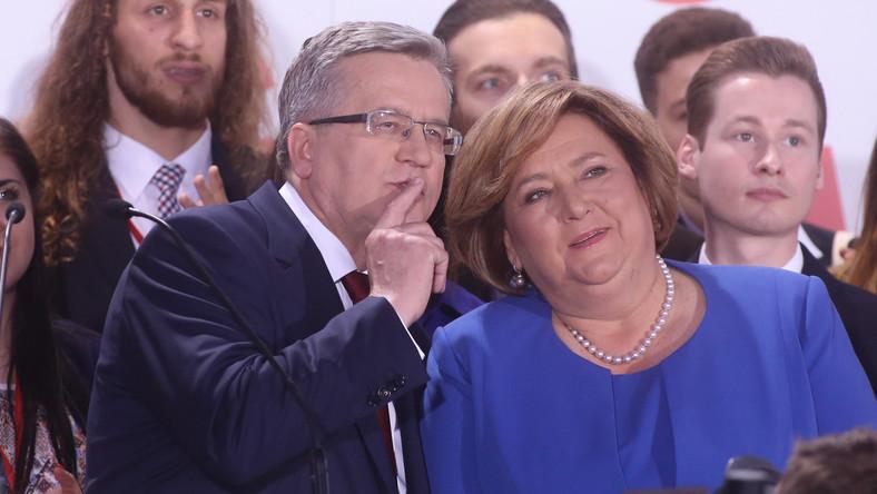 Bronisław Komorowski i Anna Komorowska