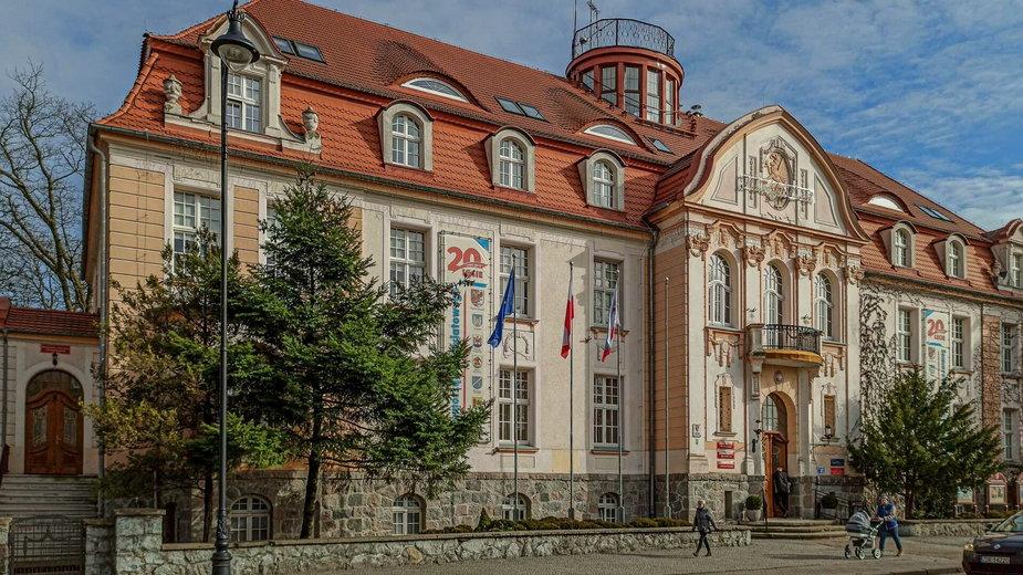 Budynek Starostwa Powiatowego w Drawsku Pomorskim