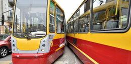 Zderzenie tramwajów. Są ranni.
