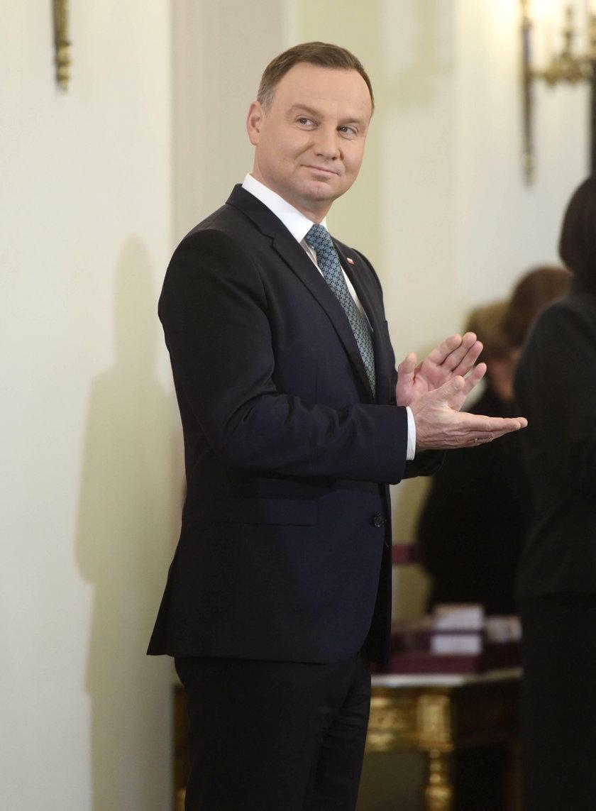 Andrzej Duda szykuje się do kampanii