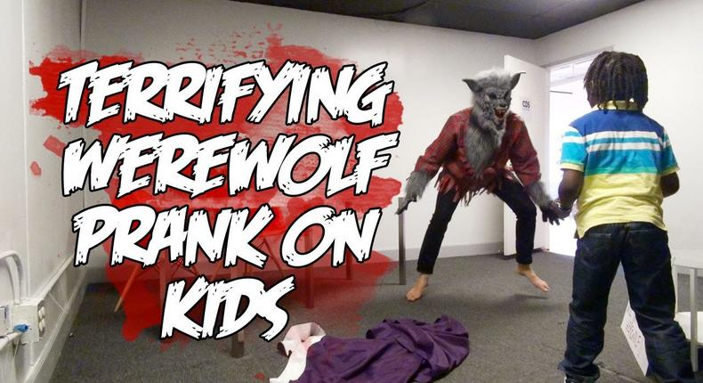 Children turn into werewolves after eating a special cupcake.