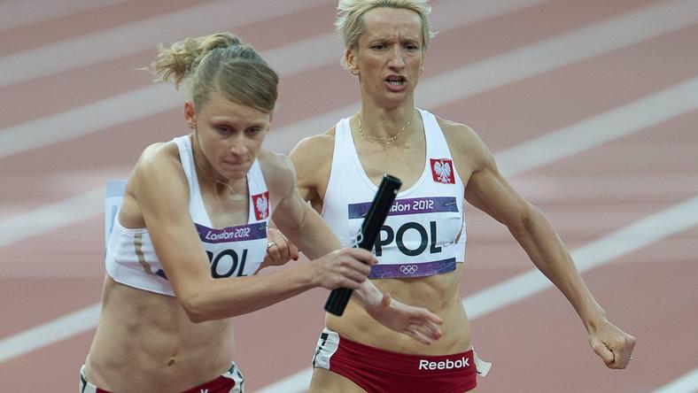 Kobieca sztafeta 4x400m nie awansowała do finału