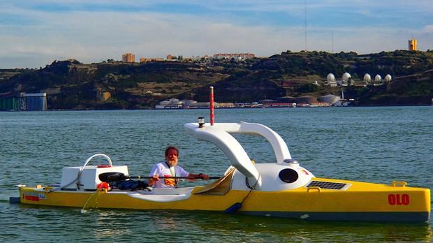 Aleksander Doba wypływa z Lizbony