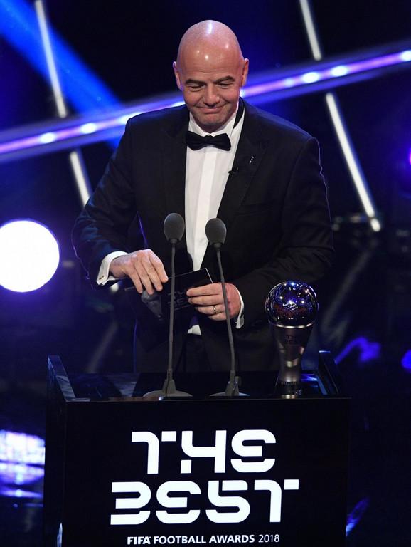 Predsednik FIFA Đani Infantino