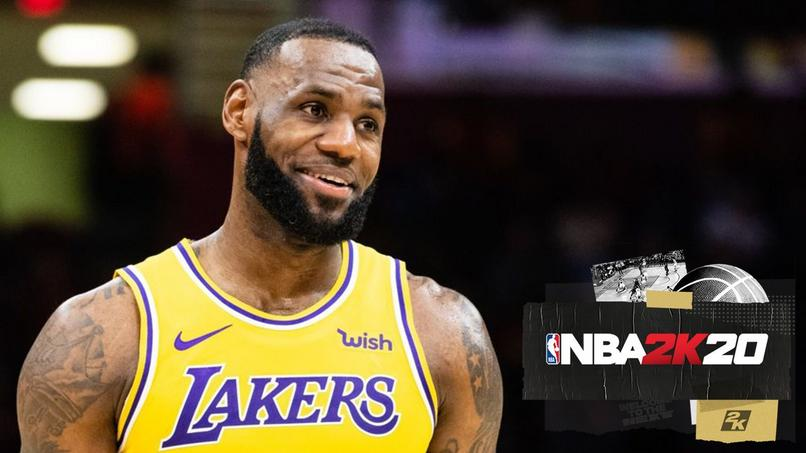 LeBron James i NBA 2k20