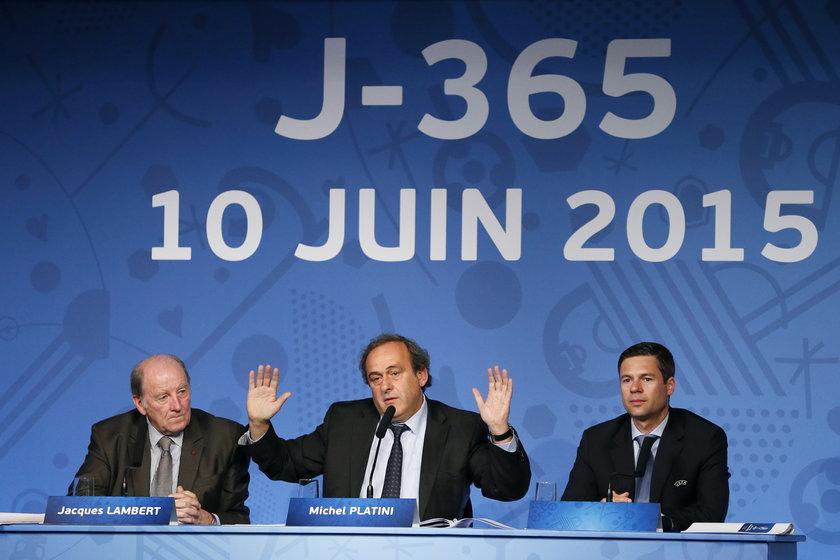 Organizator nie chce odwoływać Euro we Francji
