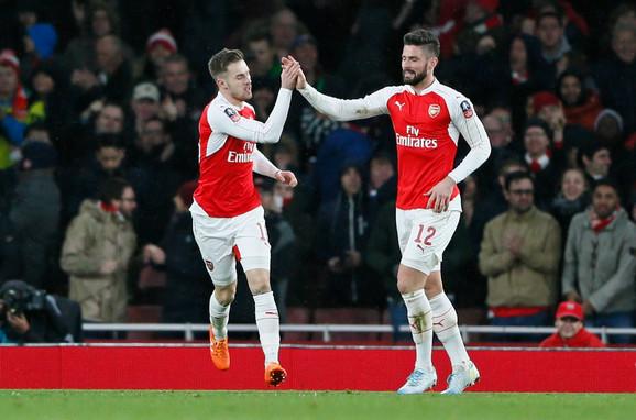 Overili pobedu: Remzi i Žiru odveli Arsenal dalje