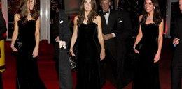 Księżna Kate w sukni od McQueena