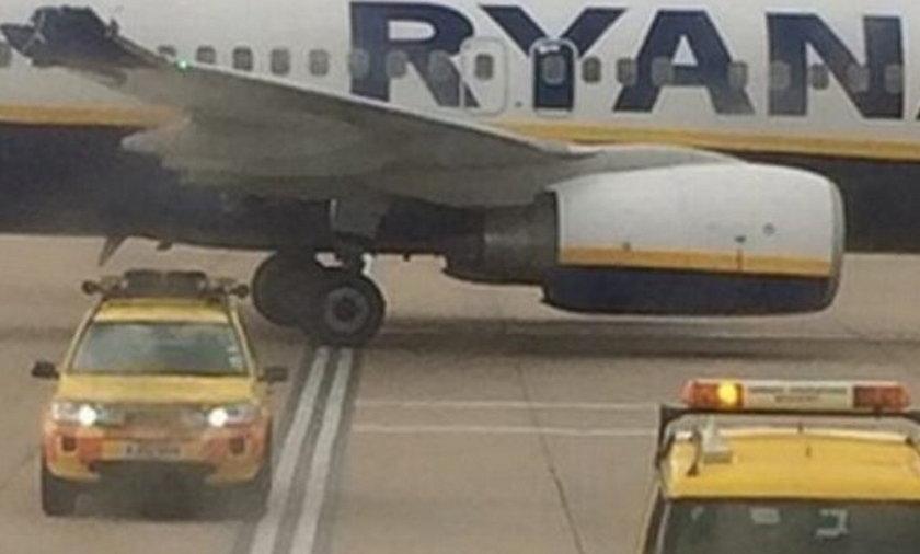 Kolizja samolotów Ryan Air