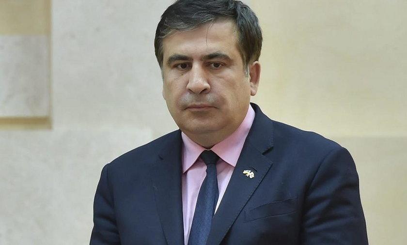 Saakaszwili: szukają mnie w bagażnikach samochodów