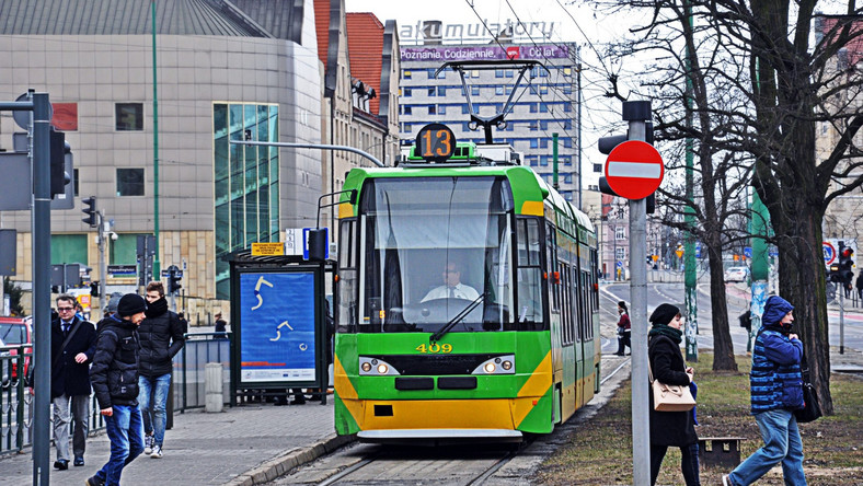 Tramwaj w Poznaniu