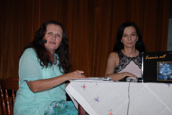 Anđelka Mali I Tanja Urošević na promociji monografije
