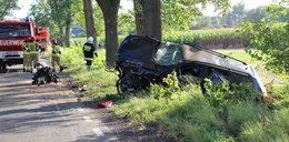Horror na drodze. Z auta wypadł silnik, szokujące zachowanie kierowcy i podróżnych