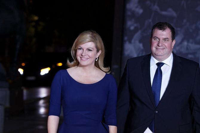 Kolinda pre nekoliko meseci u Parizu sa suprugom Jakovom Kitarovićem